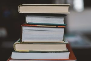 本の積み重ね