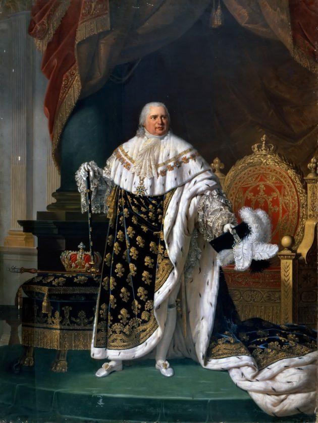 ルイ18世の肖像画