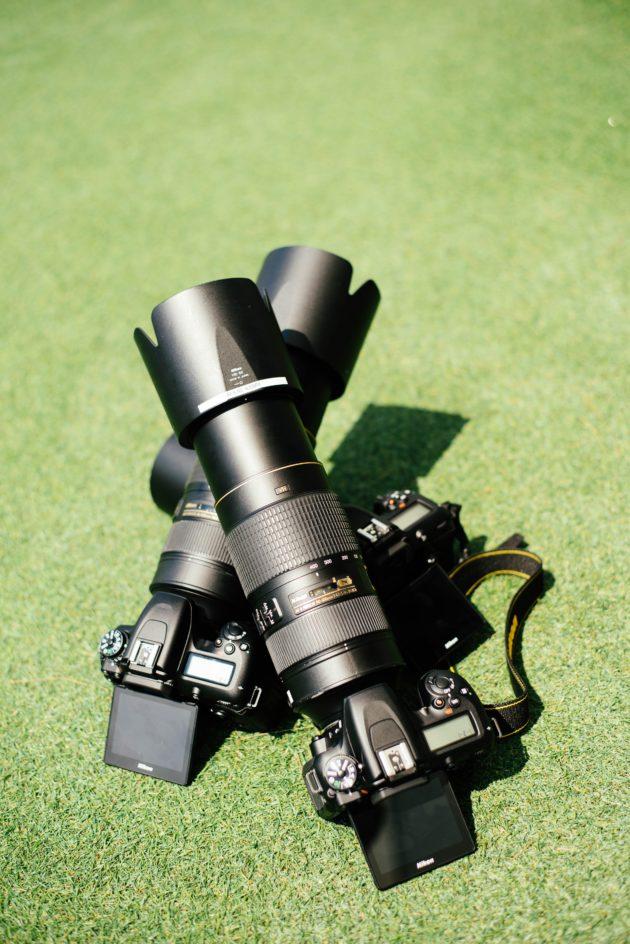 ニコンカメラと望遠レンズ